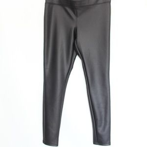 Express Faux Leather Leggings NEW Black stretch